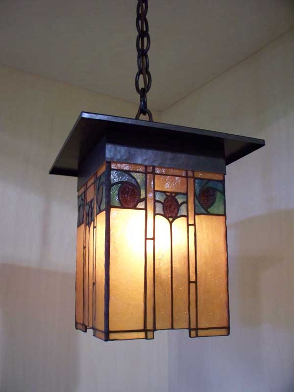 arts and crafts style lamps