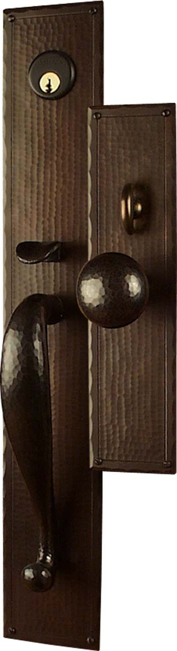 Arts And Crafts Entry Door Hardware Sets Craftsman Door Hardware Mission Style Door Hardware