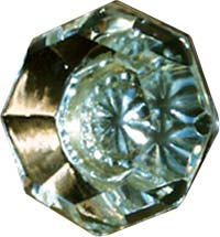 Arts and Crafts, Craftsman Style Crystal Knob