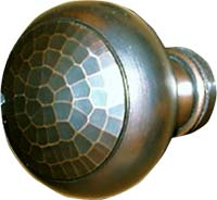 Arts and Crafts Style Hand Crafted Hand Hammered Solid Knobs and ...