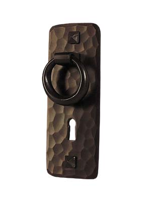 arts and crafts stickley reproduction style hand crafted hand hammered copper cabinet pull hardware