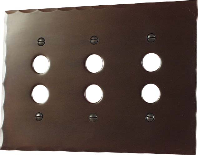 arts and crafts style hand crafted bungalow style electrical plates