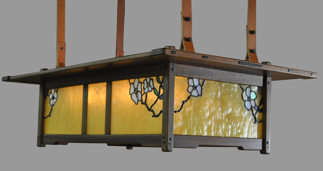Arts And Crafts Style Chandeliers: Arts and Crafts Wood Lighting Greene and Greene Style Lighting,Lighting