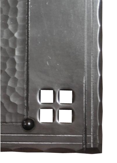 Arts And Crafts Door Kickplates Craftsman Style Door