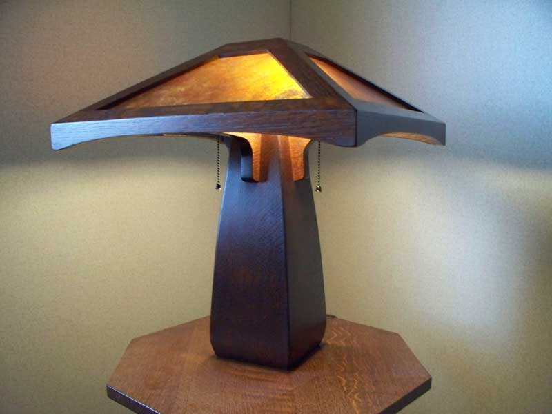 Arts And Crafts Craftsman Style Table Lamp