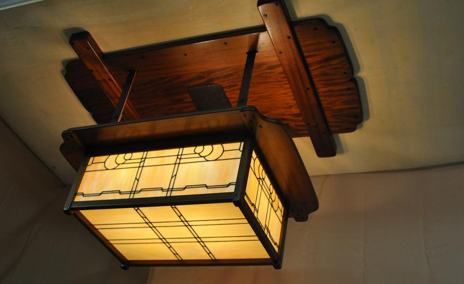 Image of: Craftsman Style Lighting With Millar 4light Geometric Chandelier Craftsman Style Lighting Wayfair
